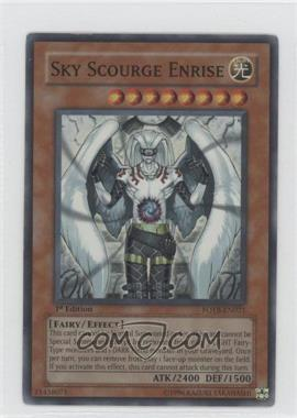 2007 Yu-Gi-Oh! Force of the Breaker Booster Pack [Base] 1st Edition #FOTB-EN021.1 - Sky Scourge Enrise (Super Rare)