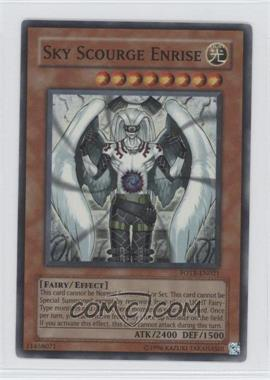 2007 Yu-Gi-Oh! Force of the Breaker Booster Pack [Base] Unlimited #FOTB-EN021.1 - Sky Scourge Enrise (Super Rare)