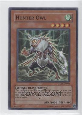 2007 Yu-Gi-Oh! GX: Spirit Caller Nintendo DS Promos #GX03-EN002 - Hunter Owl
