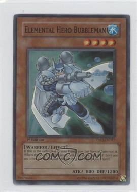 2007 Yu-Gi-Oh! Jaden Yuki Starter Deck [Base] 1st Edition #YSDJ-EN017 - Elemental HERO Bubbleman