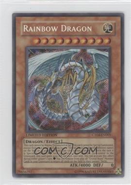 2007 Yu-Gi-Oh! Series 4 Collectors Tins Limited Edition Promos #CT4-EN005 - Rainbow Dragon