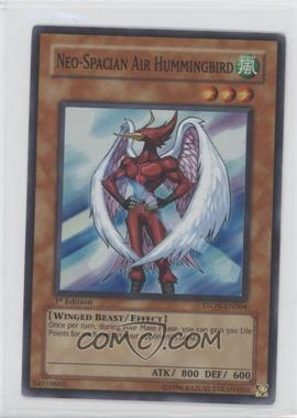 2007 Yu-Gi-Oh! Strike of the Neos Booster Pack [Base] 1st Edition #STON-EN004.1 - Neo-Spacian Air Hummingbird (Super Rare)
