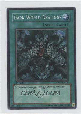 2007 Yu-Gi-Oh! Strike of the Neos Booster Pack [Base] 1st Edition #STON-EN038.1 - Dark World Dealings (Super Rare)