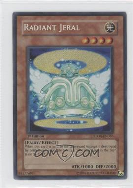 2007 Yu-Gi-Oh! Strike of the Neos Booster Pack [Base] 1st Edition #STON-EN066 - Radiant Jeral (Secret Rare)