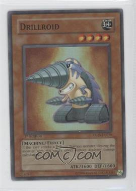 2007 Yu-Gi-Oh! Syrus Truesdale Starter Deck [Base] 1st Edition #YSDS-EN016 - Drillroid