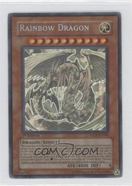2007 Yu-Gi-Oh! Tactical Evolution Booster Pack [Base] 1st Edition #TAEV-EN006 - Rainbow Dragon