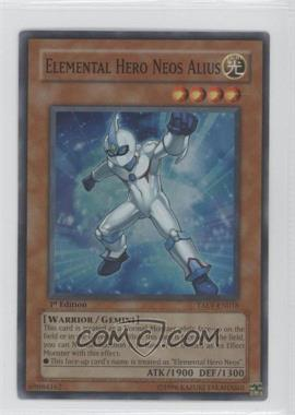 2007 Yu-Gi-Oh! Tactical Evolution Booster Pack [Base] 1st Edition #TAEV-EN018 - Elemental HERO Neos Alius