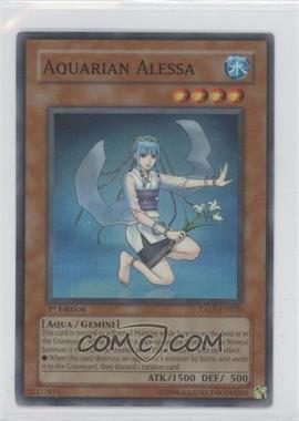 2007 Yu-Gi-Oh! Tactical Evolution Booster Pack [Base] 1st Edition #TAEV-EN020 - Aquarian Alessa