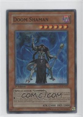 2007 Yu-Gi-Oh! Tactical Evolution Booster Pack [Base] 1st Edition #TAEV-EN025 - Doom Shaman