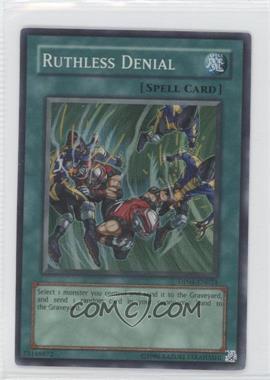 2007 Yu-Gi-Oh! Zane Truesdale - Duelist Pack [Base] - Unlimited #DP04-EN024 - Ruthless Denial