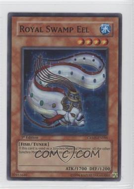 2008 Yu-Gi-Oh! Crimson Crisis - Booster Pack [Base] - 1st Edition #CRMS-EN086 - Royal Swamp Eel