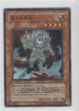 2008 Yu-Gi-Oh! Crimson Crisis Booster Pack [Base] 1st Edition #CRMS-EN084 - Alien Kid