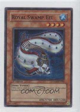 2008 Yu-Gi-Oh! Crimson Crisis Booster Pack [Base] 1st Edition #CRMS-EN086 - Royal Swamp Eel