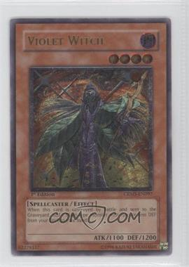 2008 Yu-Gi-Oh! Crimson Crisis Booster Pack [Base] 1st Edition #CRMS-EN097 - Violet Witch