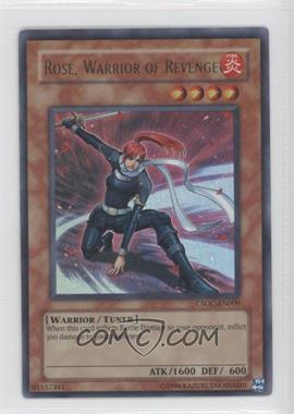 2008 Yu-Gi-Oh! Crossroads of Chaos Booster Pack [Base] Unlimited #CSOC-EN000 - Rose, Warrior of Revenge