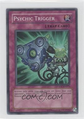 2008 Yu-Gi-Oh! Crossroads of Chaos Booster Pack [Base] Unlimited #CSOC-EN073.1 - Psychic Trigger