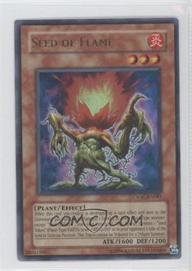 2008 Yu-Gi-Oh! Crossroads of Chaos Booster Pack [Base] Unlimited #CSOC-EN081.1 - Seed of Flame