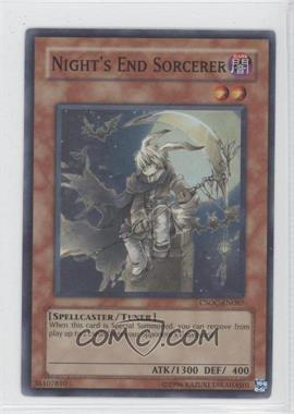 2008 Yu-Gi-Oh! Crossroads of Chaos Booster Pack [Base] Unlimited #CSOC-EN087 - Night's End Sorcerer