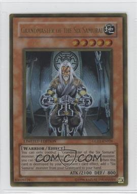 2008 Yu-Gi-Oh! Gold Series 1 Box Collection [Base] Limited Edition #GLD1-EN026 - Grandmaster of the Six Samurai