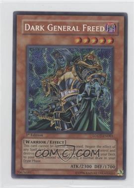 2008 Yu-Gi-Oh! Light of Destruction Booster Pack [Base] 1st Edition #LODT-EN083 - Dark General Freed