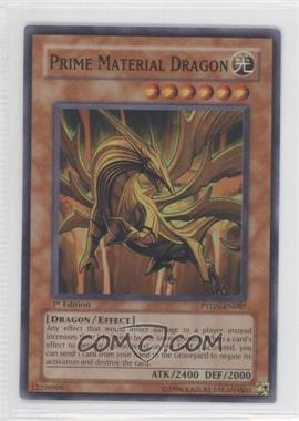 2008 Yu-Gi-Oh! Phantom Darkness Booster Pack [Base] 1st Edition #PTDN-EN087 - Prime Material Dragon
