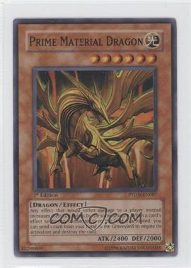 2008 Yu-Gi-Oh! Phantom Darkness Booster Pack [Base] 1st Edition #PTDN-EN087 - Prime Material Dragon