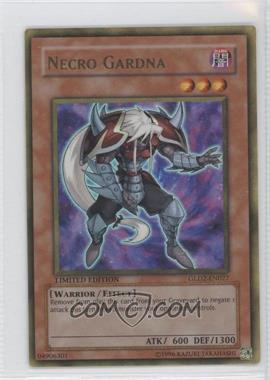 2009 Yu-Gi-Oh! Gold Series 2 Limited Edition Box Collection #GLD2-EN027 - Necro Gardna