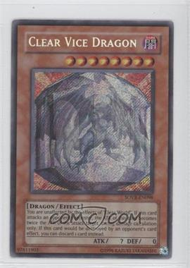2009 Yu-Gi-Oh! Stardust Overdrive - Booster Pack [Base] - 1st Edition #SOVR-EN098 - Clear Vice Dragon