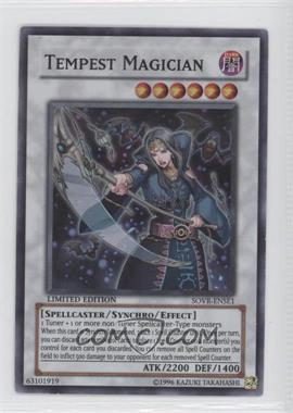 2009 Yu-Gi-Oh! Stardust Overdrive - Limited Edition Promos #SOVR-ENSE1 - Tempest Magician