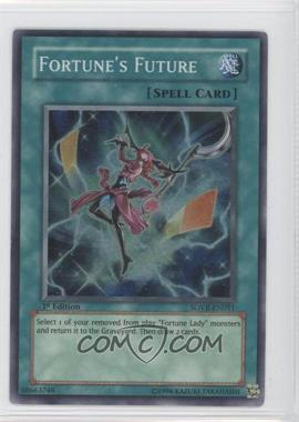 2009 Yu-Gi-Oh! Stardust Overdrive Booster Pack [Base] 1st Edition #SOVR-EN051 - Fortune's Future