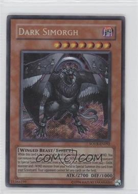 2009 Yu-Gi-Oh! Stardust Overdrive Booster Pack [Base] 1st Edition #SOVR-EN0N/A - Dark Simorgh