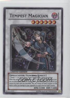 2009 Yu-Gi-Oh! Stardust Overdrive Limited Edition Promos #SOVR-ENSE1 - Tempest Magician