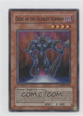 2010 Yu-Gi-Oh! Absolute Powerforce - Booster Pack [Base] - 1st Edition #ABPF-EN005 - Ogre of the Scarlet Sorrow (Super Rare)