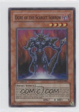 2010 Yu-Gi-Oh! Absolute Powerforce Booster Pack [Base] 1st Edition #ABPF-EN005 - Ogre of the Scarlet Sorrow (Super Rare)