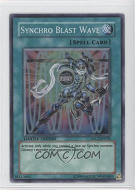 2010 Yu-Gi-Oh! Duelist Pack Collection Tins Limited Edition Promos #DPCT-ENY03 - Synchro Blast Wave (Red Tin/Super Rare)