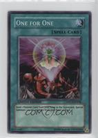 One for One (Purple Tin/Super Rare)