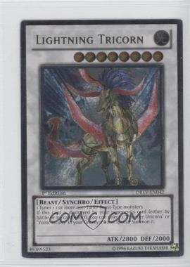 2010 Yu-Gi-Oh! Duelist Revolution - Booster Pack [Base] - 1st Edition #DREV-EN042.1 - Lightning Tricorn
