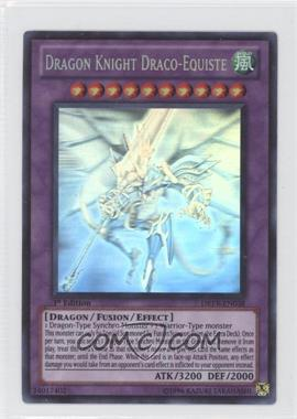 2010 Yu-Gi-Oh! Duelist Revolution Booster Pack [Base] 1st Edition #DREV-038.2 - Dragon Knight Draco-Equiste (Ghost Rare)