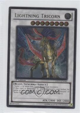 2010 Yu-Gi-Oh! Duelist Revolution Booster Pack [Base] 1st Edition #DREV-042.1 - Lightning Tricorn