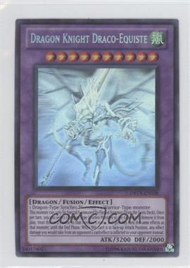 2010 Yu-Gi-Oh! Duelist Revolution Booster Pack [Base] Unlimited #DREV-EN038.3 - Dragon Knight Draco-Equiste (Ghost Rare)