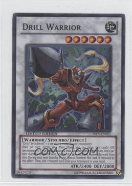 2010 Yu-Gi-Oh! Duelist Revolution Limited Edition Promos #DREV-EN0SE1 - Drill Warrior (Special Edition)