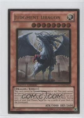 2010 Yu-Gi-Oh! Gold Series 3 - Limited Edition Box Collection #GLD3-EN016 - Judgment Dragon