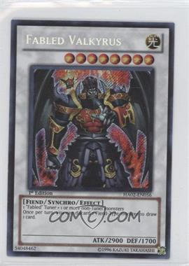 2010 Yu-Gi-Oh! Hidden Arsenal 2 Booster Pack [Base] 1st Edition #HA02-EN056 - Fabled Valkyrus