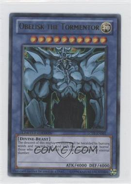 2010 Yu-Gi-Oh! Legendary Collection 1 Box Set [Base] Limited Edition #LC01-EN001 - Obelisk the Tormentor