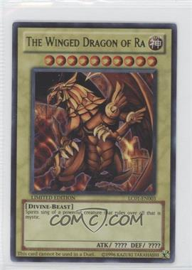 2010 Yu-Gi-Oh! Legendary Collection 1 Box Set [Base] Limited Edition #LC01-EN003 - The Winged Dragon of Ra