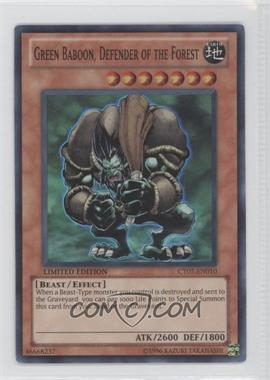 2010 Yu-Gi-Oh! Series 7 Collectors Tins Limited Edition Promos #CT7-EN010 - Green Baboon, Defender of the Forest