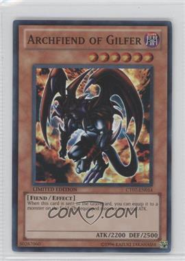 2010 Yu-Gi-Oh! Series 7 Collectors Tins Limited Edition Promos #CT7-EN014 - Archfiend of Gilfer