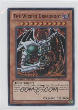 2010 Yu-Gi-Oh! Series 7 Collectors Tins Limited Edition Promos #CT7-EN015 - The Wicked Dreadroot