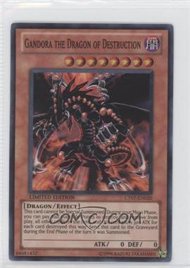 2010 Yu-Gi-Oh! Series 7 Collectors Tins Limited Edition Promos #CT7-EN020 - Gandora the Dragon of Destruction
