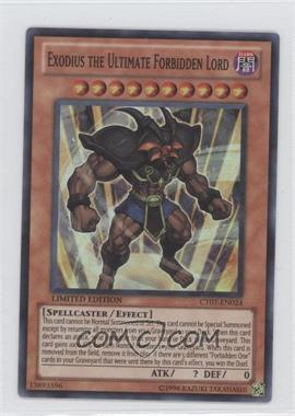 2010 Yu-Gi-Oh! Series 7 Collectors Tins Limited Edition Promos #CT7-EN024 - Exodius the Ultimate Forbidden Lord